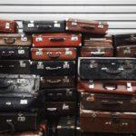 Foto van stapel koffers